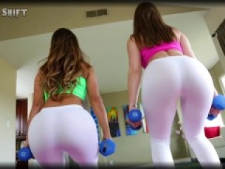 Eva Lovia and Dani Daniels Pussy Licking