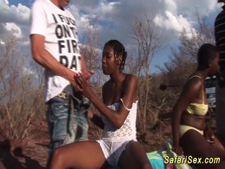 african sex safari threesome orgy