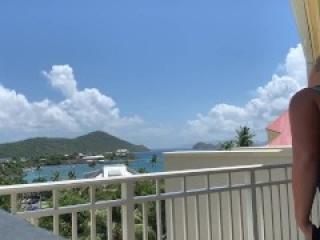 Walmart tinder girl fucks on balcony in virgin islands