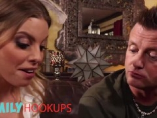 Family Hookups - Sister in law Britney Amber helps roleplay