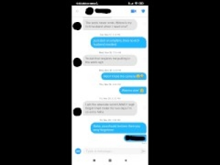 Persistence Pays Off (+Tinder & Text Conversation)