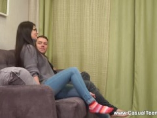 Casual Teen Sex - Bell Knock - Teen hookup for many orgasms