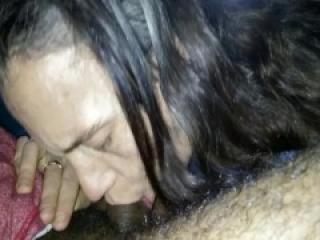 Horny Milf Wife Gives Random Stranger a Sloppy Blowjob - Craigslist Hookup