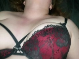Tinder Date Got A Tummy but she sure is YUMMY! Teen BBW, We Cum Together!