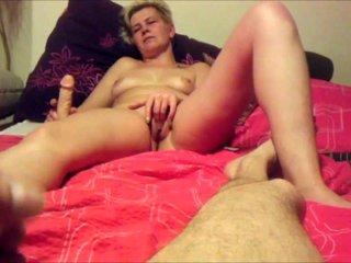 Masturbating Together After Hookup