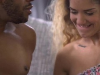 BLACK4K Sexy hotties plan is to have an interracial hookup with a dude