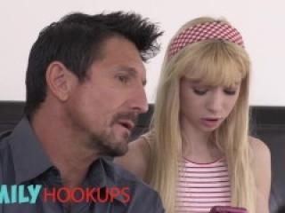 Family Hookups- Dilf fucks petite teen stepdaughter