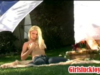 with two hot bisexual girls with toys and strapon