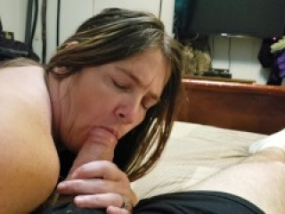 Random Wife Hookup Fucks and Sucks Me While Hubby Is At Work Part 2