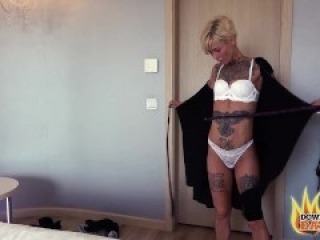 PublicSexDate - VICKY HUNDT BLONDE HORNY TATTOOED MILF READY TO FUCK ON FIRST DATE