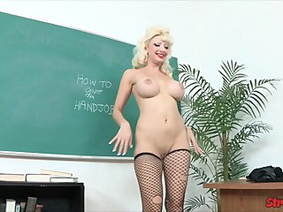 Big Tit Teacher Rewards Student