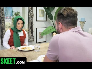 Fucking Your Step-Daughter's Muslim Girlfriend - HijabHookup Preview