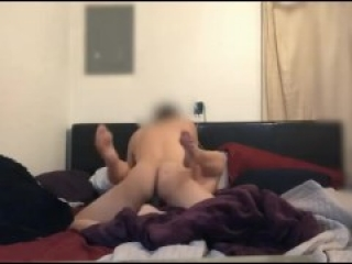 Amateur MILF gets fucked in missionary. Real female orgasm. Tinder Hookup. amateur pussy pounded.