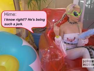 Petite Blonde Teen Destroyed on Hookup Hotshot