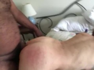 White Milf from Bumble getting Ass slapped Cums on BBC. Raceplay