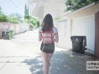 Teen cutie Hazel Moore gets anal from Hookup Hotshot