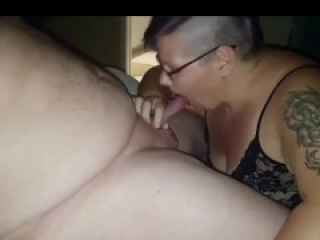 BBW GF lets BF record her first hookup with online fuck buddy