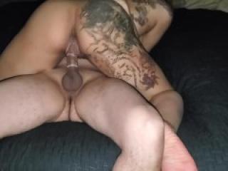 White Boy Fucks Sexy ass Black girl