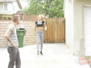 HookUpHotShot - Blonde Teen Fucked Until She's a Total Mess!