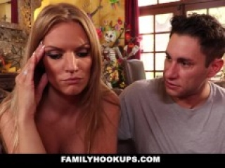 FamilyHookUps - Wife Cheats On Husband With SOn