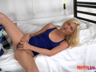 Step-mom catches step-daughter masturbating xx