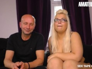 SextapeGermany - Tinder Date Hookup Leads To Sex With This Chubby Blonde