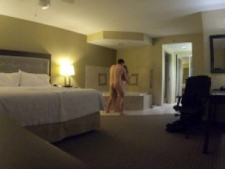 Sexy Tinder Teen Creampied in Hotel Room